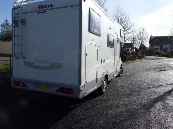 Adria 660 Sport 6 berth motorhome on a fiat ducato 2.3 130 multi jet engine donegal motor homes