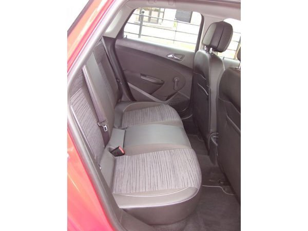 Opel Astra Red 2015 Donegal Motorhomes Back Seat