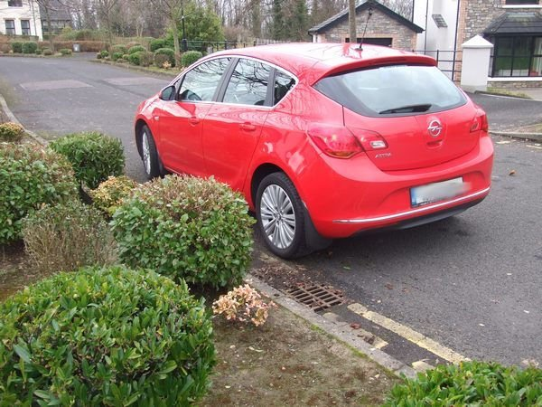 Opel Astra Red 2015 Donegal Motorhomes