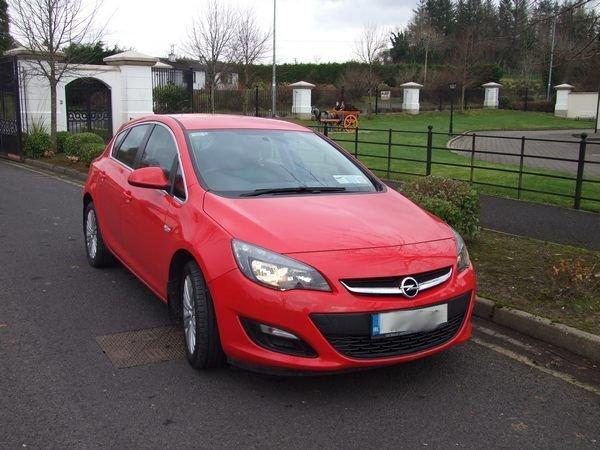 Opel Astra 1.4 Litre Petrol
