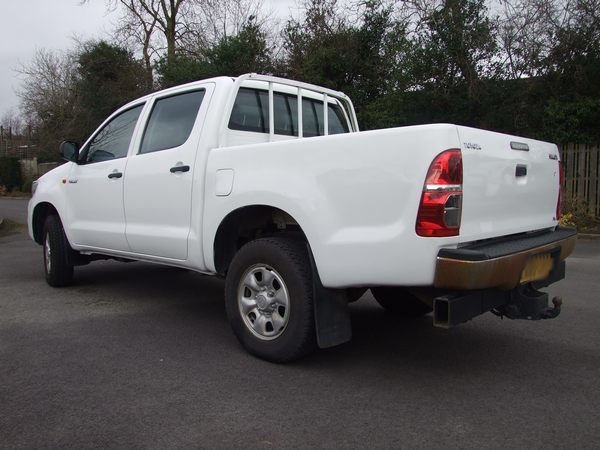 Toyota Hilux Crew Cab Donegal Motor Homes Pickup Truck