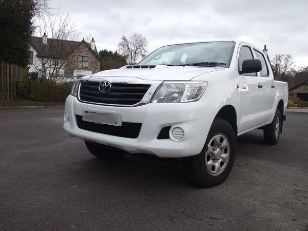 Toyota Hilux Crew Cab – SOLD